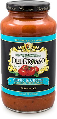 Delgrosso Garlic and Cheese Pasta Sauce