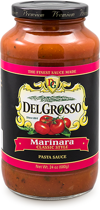 DelGrosso Marinara All Natural Pasta Sauce